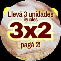 Tramezzo 3x2 Sandwiches de Miga